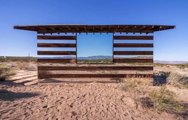 Artist Phillip K Smith III Makes A Californian Desert Cabin Appear Transparent