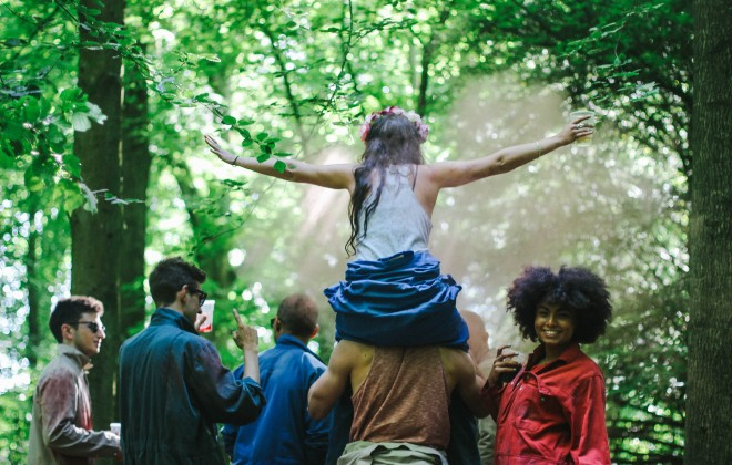 Get bundled in to a blacked out bus and LOST in the woods this August as you become part of a weird and wonderful live art festival