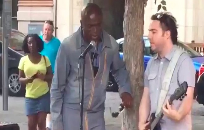 Seal & Montreal Busker Duet Stand By Me