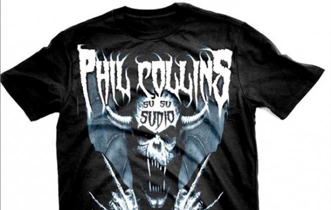 When Pop Music Meets Heavy Metal Shirts