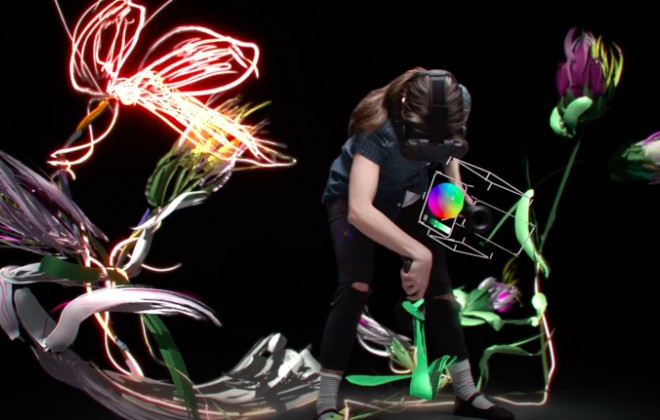 Google's Tilt Brush, Virtual Reality Painting