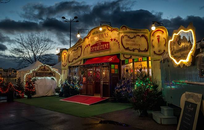 Christmas at the Spiegeltent — Harbourside