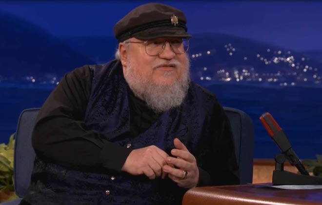 George R. R. Martin writes Game of Thrones on a DOS word processor
