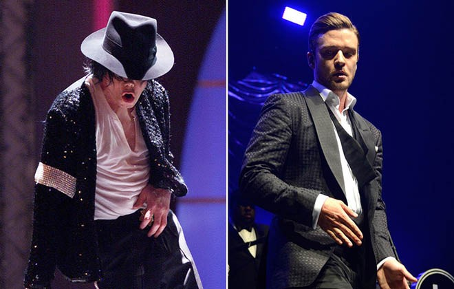 Michael Jackson is back, with a little help from Justin Timberlake