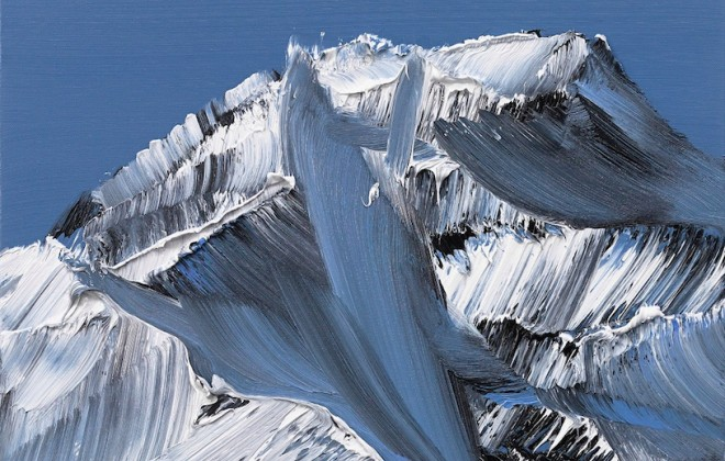 Conrad Jon Godly's Abstract Mountains