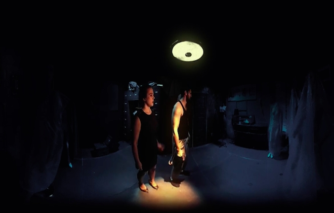 An Interactive 360 Horror Film