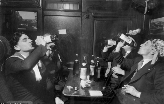 For The Love of God, Don't Ban Booze On Trains