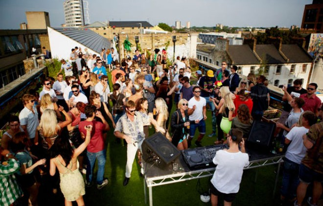 Boxfresh Presents HIGHRISE At Dalston Roof Park