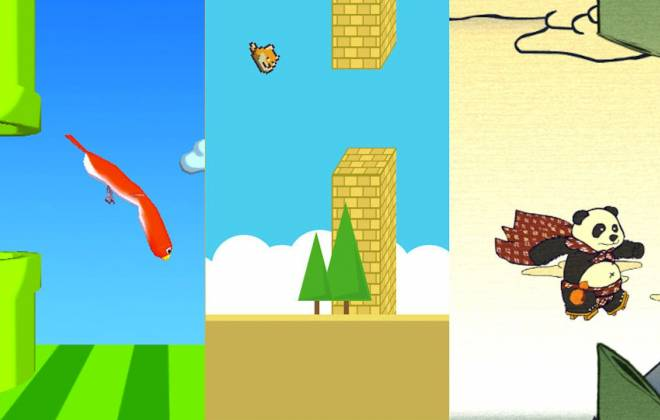 800 Flappy Bird Remakes, All In One Place