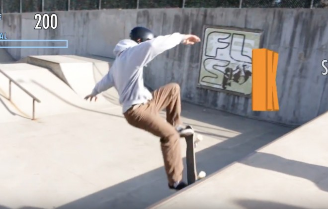 Real Skating Filmed Like Tony Hawk's Pro Skater Video Game