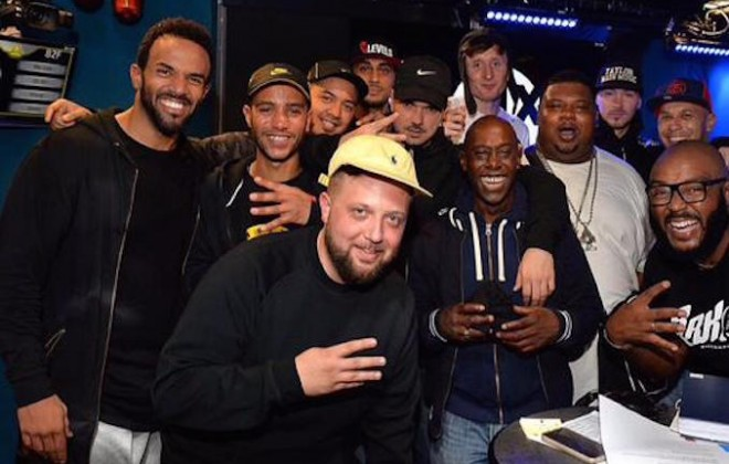 Kurupt FM Takeover Feat. Craig David On 1Xtra