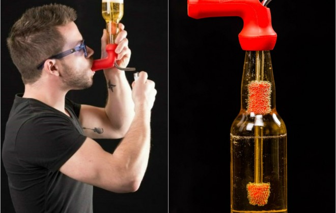 The Bong That Lets You Smoke & Drink At The Same Time