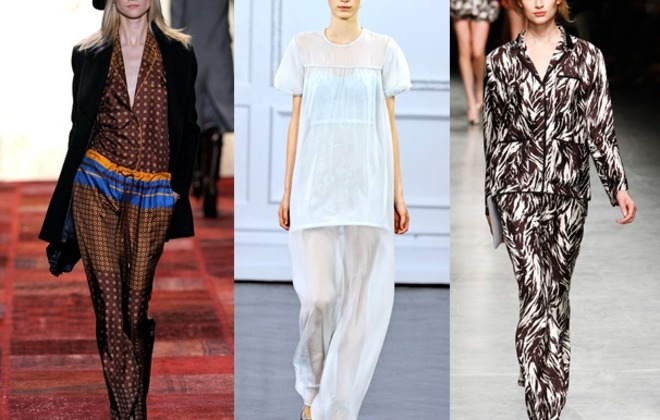 Pyjamas Get the Fashion Treatment