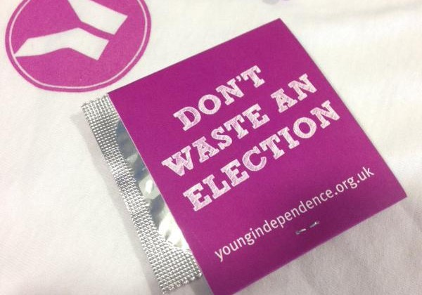 Gentlemen: The UKIP Condom Exists