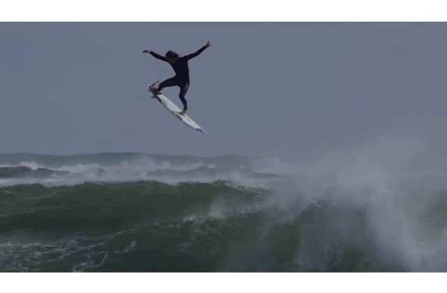 Jordy Smith Launches Surfboard Into Space