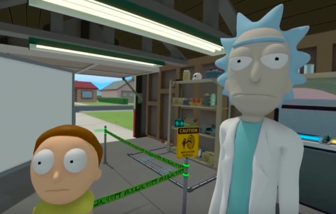 Watch A Virtual Reality Rick & Morty Episode!