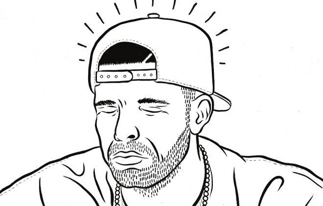 A Drake Colouring In Book