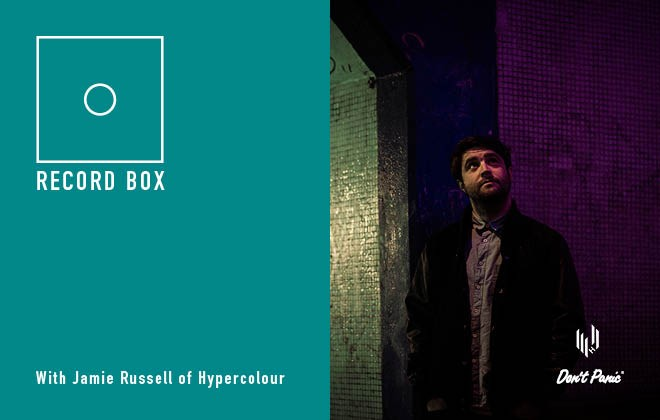 Record Box 5 with Jamie Russell of Hypercolour