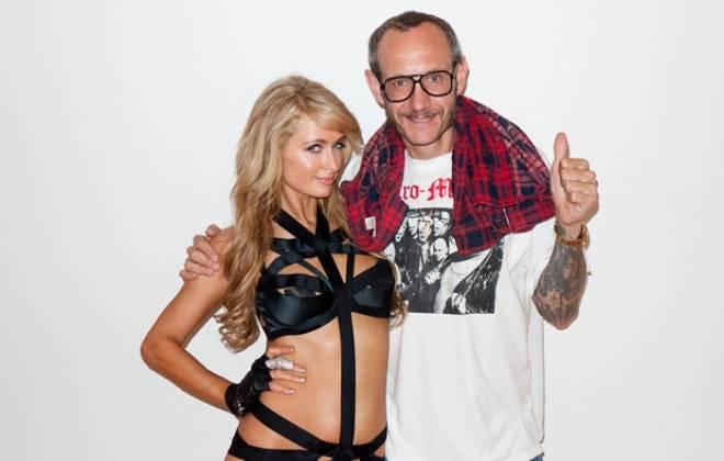 Terry Richardson shoots Paris Hilton