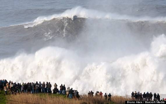 Andrew Cotton Rides 'World's Biggest Surfed Wave' In Nazaré, Portugal