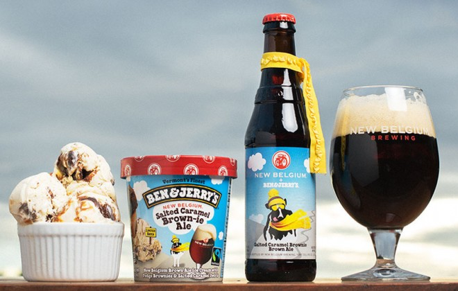 Ben & Jerry's Release Beer Flavoured Ice Cream + Ice Cream Flavoured Beer