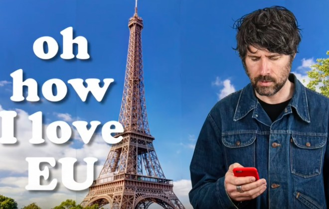 Super Furry Animals' Gruff Rhys Releases Pro-Remain Tune I Love EU