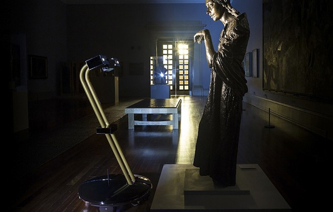 Tate Britain After Dark - Viewing Art Via Nocturnal Robots