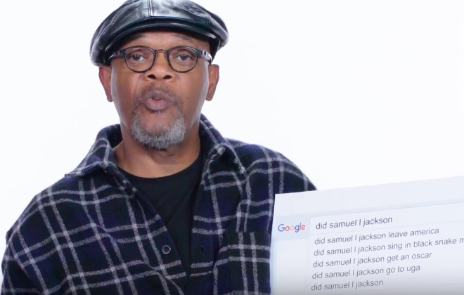 Samuel L. Jackson Answers The Most Googled Questions About Himself