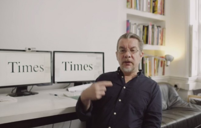 The Times Presents A Short Film About Times New Roman