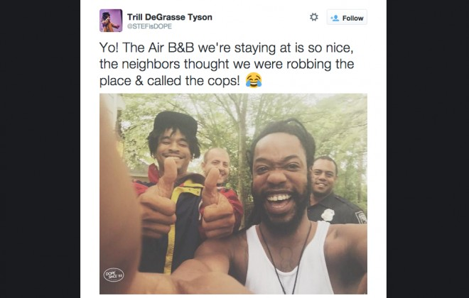 Neighbours Call Cops On Black Guy Renting Nice Airbnb