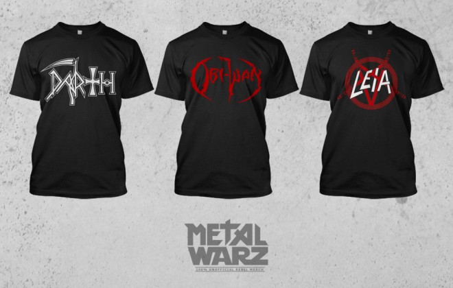 Metal Meets Star Wars, Ends Up On T Shirts