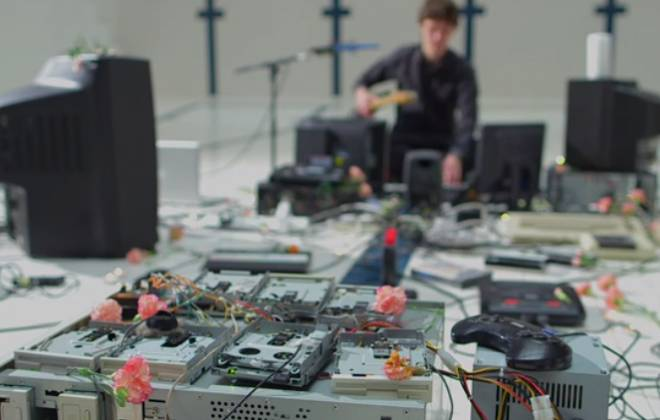 Music Video Created With Old Computer Hardware