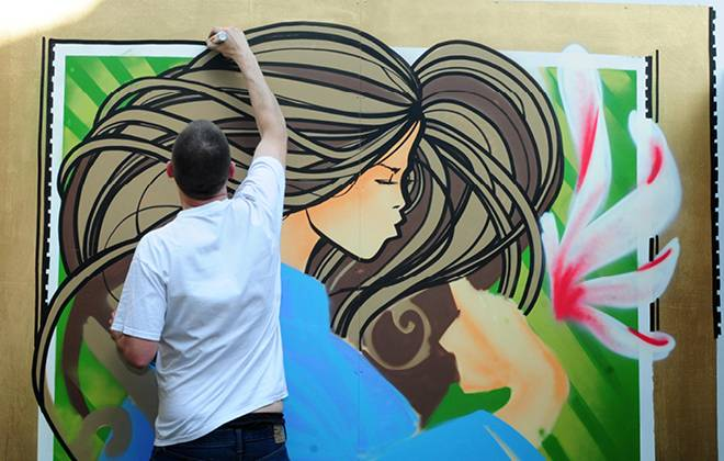 Fancy Inkie painting your wall for free?