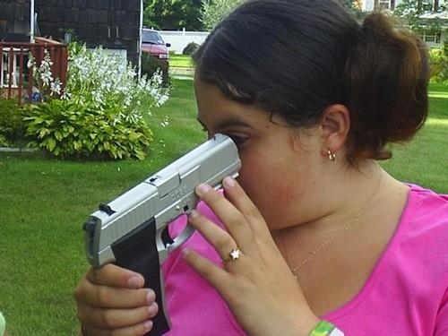 Women Shoots Herself In The Head Taking Selfie