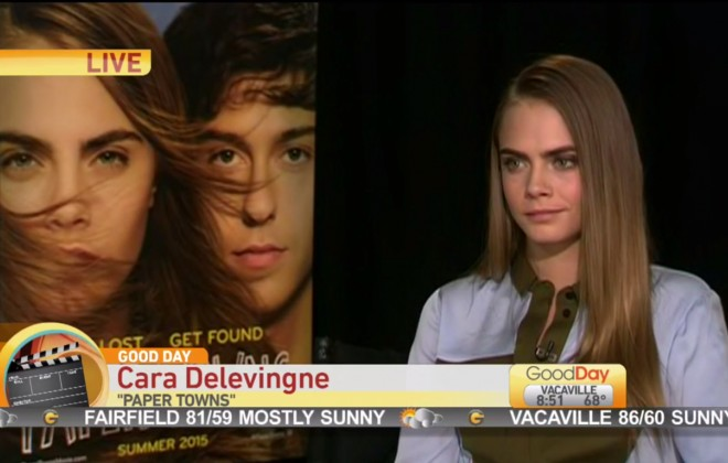 Cara Delevingne Subjected To World's Worst Interview With Parade Of Dickheads