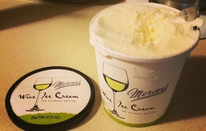 Wine + Ice Cream = Wine Ice Cream