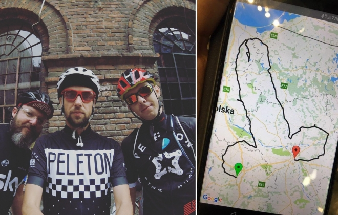 Helmet On: An Interview With The Men Who Cycled 1057 km To Draw Worlds Largest GPS Dick