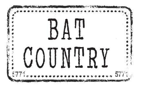 This Is Bat Country, The Bar