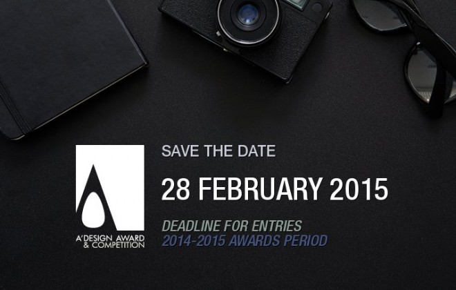 A' Design Awards 2015 - The Call for Entries