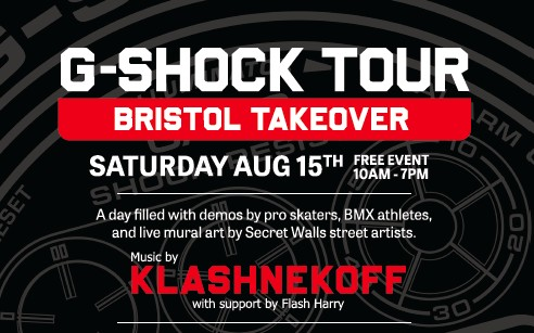 G-SHOCK UK Tour comes to Bristol