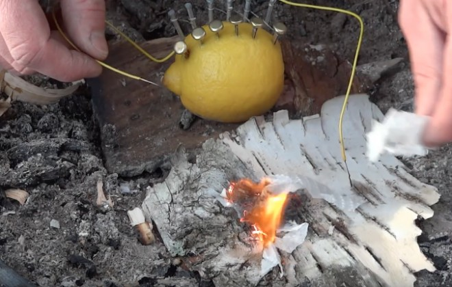 When Life Gives You Lemons, Make Fire