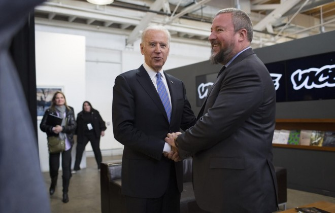Joe Biden Visits VICE