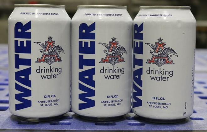 Anheuser-Busch Emergency Beer Water