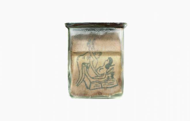 Some Polish Tattoos In Gross Jars