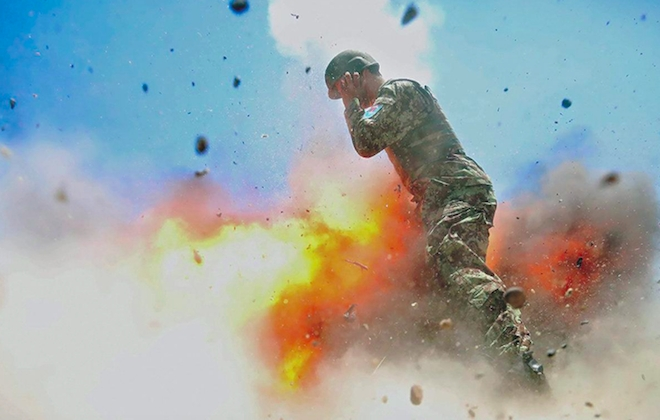 Combat Photographer's Last Shot Is Of Blast That Killed Her