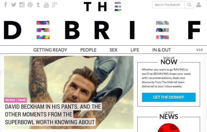The Debrief: A Website For The Discerning Young Woman