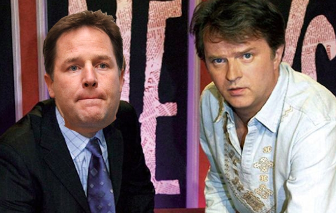 Nick Clegg To Host Have I Got News For You