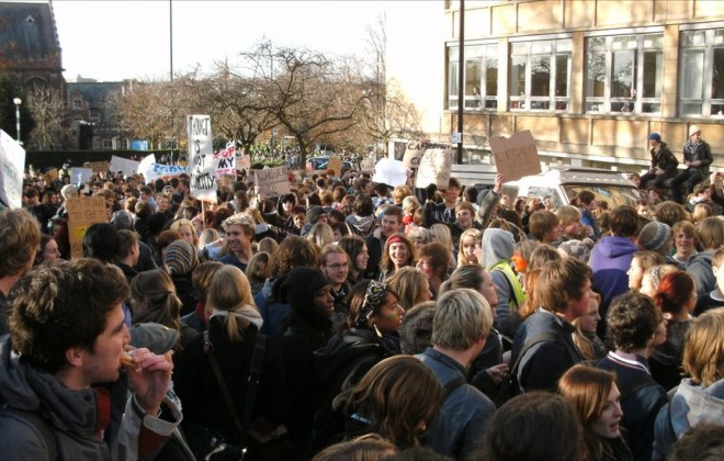 Anti-Austerity Protests in Bristol