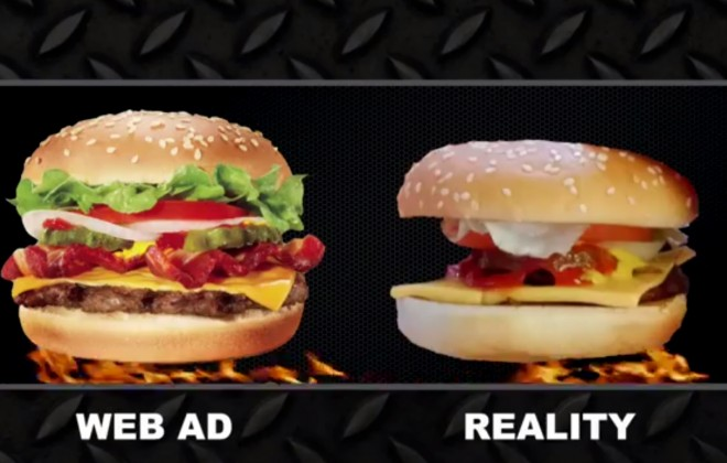 Can Fast Food Chains Make Food That Looks Like The Ads?