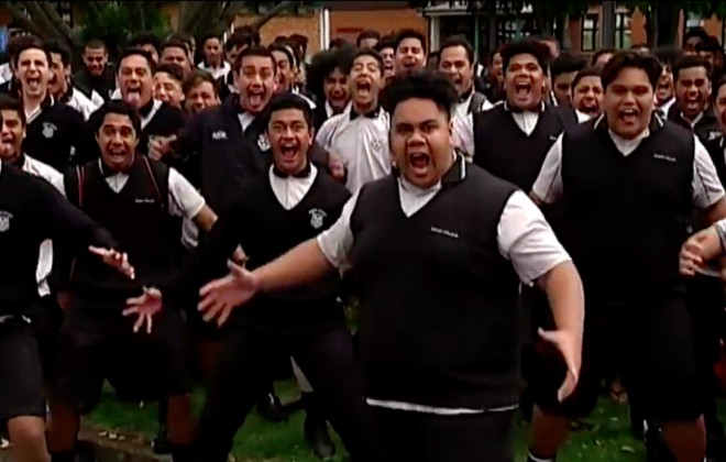 Jonah Lomu's Former School Performs Haka To Honour The All Blacks Legend